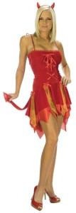 Devil Skirt Costume
