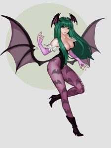 Morrigan Aensland by Ultramarine