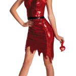 Sexy Sequin Devil Temptress Costume