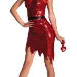 Sexy Sequin Devil Temptress Costume