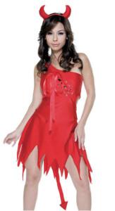 Sexy Red Devil Costume