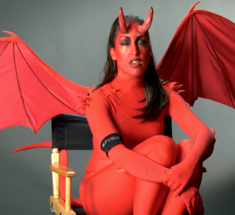 Edie Nightcrawler as the Succubus