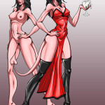 Lilith, Demon Queen of Lust by SomeHornyGuy