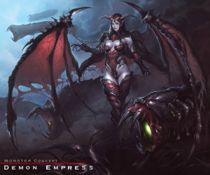 Monster : Demon Empress by reaper78