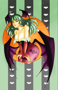 Morrigan Aensland by Cyndy Bell