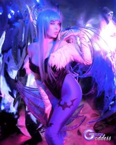 Kassandra Leigh as Morrigan Aensland