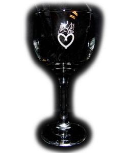 Succubus Wine Glass