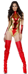 Fierce Flame Sexy Devil Costume