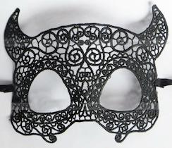 Masquerade Horn Mask