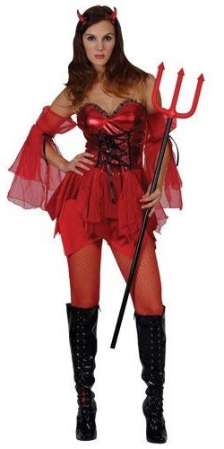 Devilicious Devil Lady Costume