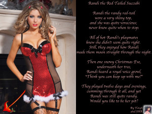 Randi The Red Tailed Succubi by TeraS and JHB