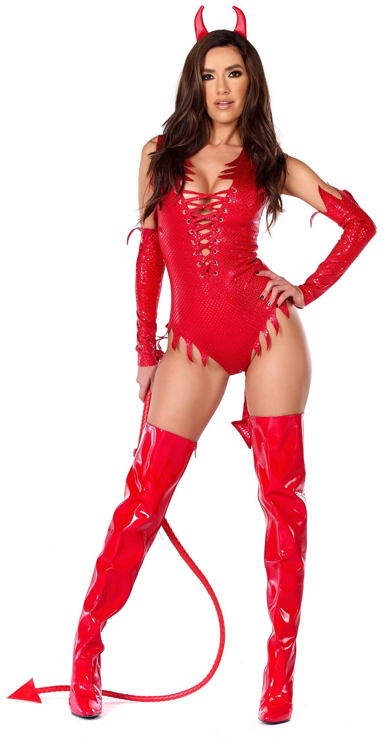 Sizzle N Shine Devil Costume