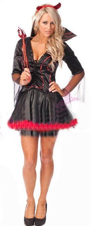 Gothic Devil Costume