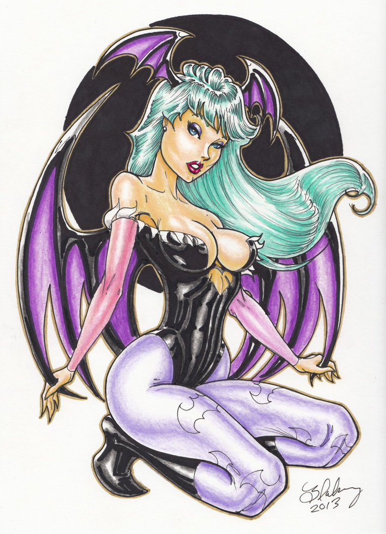Morrigan by Cameron Blakey Coloured by sistermcguire
