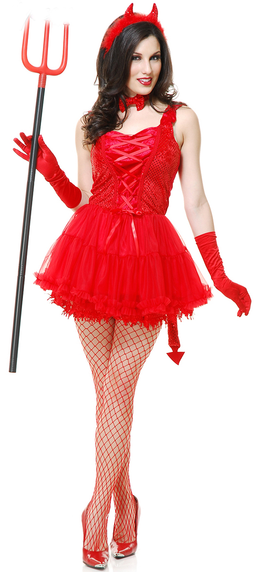 Red Hot Devil Costume