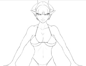 Succubus Character by Digitially Devious