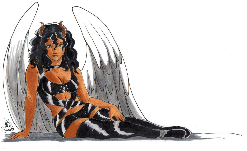 Succubi Angel by ks-claw
