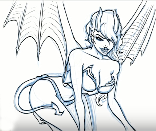 Succubus by Jazza