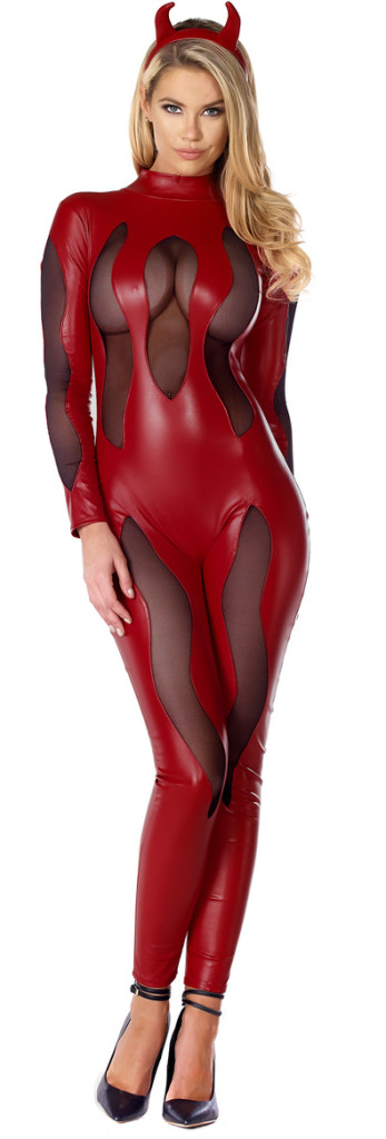 Malicious Mistress Devil Costume