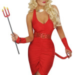 Red Flaming Devil Costume
