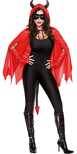 Wicked Delights Devil Cape Kit