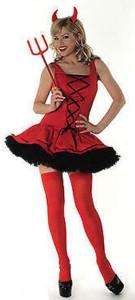 Fancy Red Devil Costume