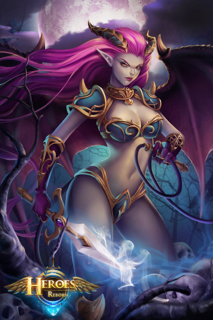 Heroes Reborn - Succubus Sue by toorugenshin