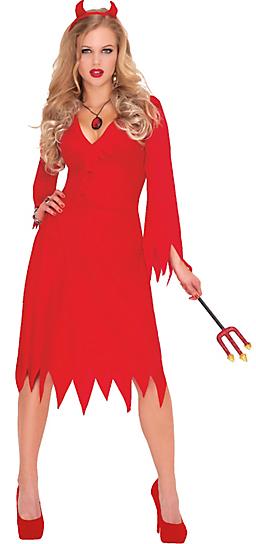 Adult Red Hot Devil Costume