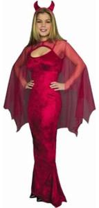 Ladies Devil Costume