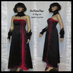 Costume Devil Dress by Sweet Darkness Designs