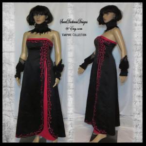 Costume Devil Dress by Sweet Darkness Designs