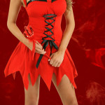 Red Vixen Devil Costume