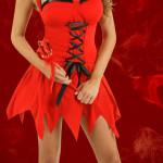 Red Vixen Devil Costume