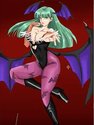 Morrigan Aensland by Anicora Mulheim