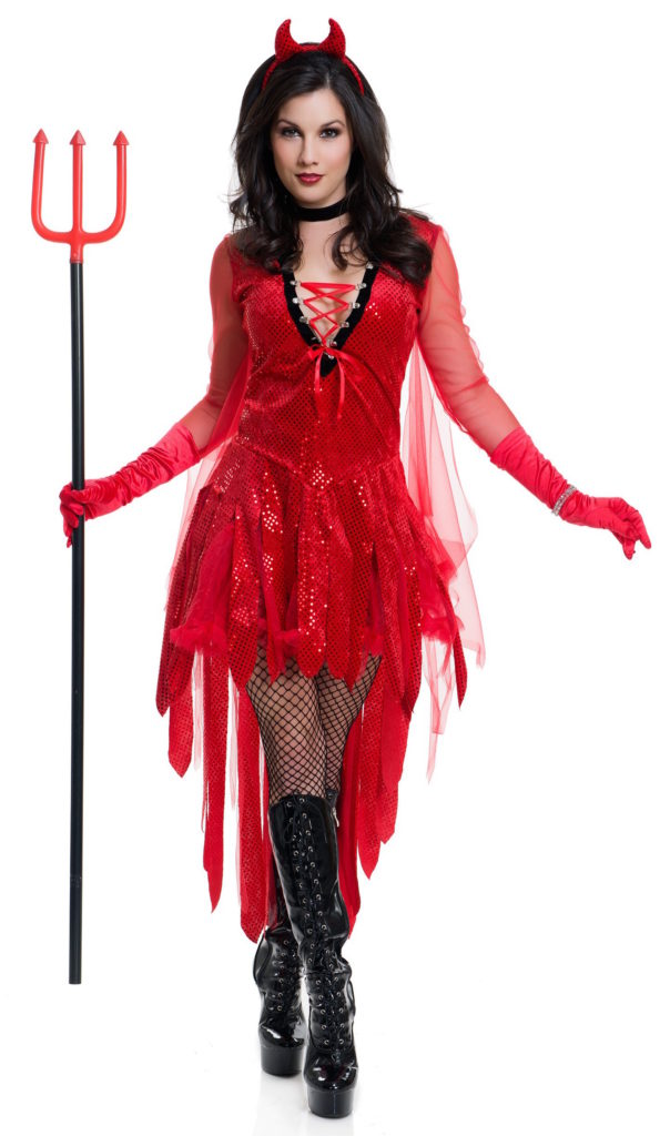Sizzling Devil Costume