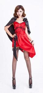 Sexy Heart Devil Halloween Dress
