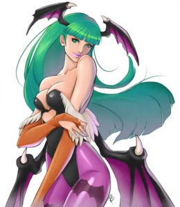 Morrigan Aensland by Ro Illustrations