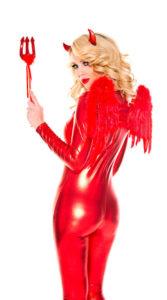 Red Devil Babe Costume Kit
