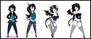 Succubus Transformation by ChompWorks