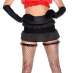 Red Black Sexy Devil Costume