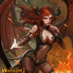 AOE-Succubus by redpencilart
