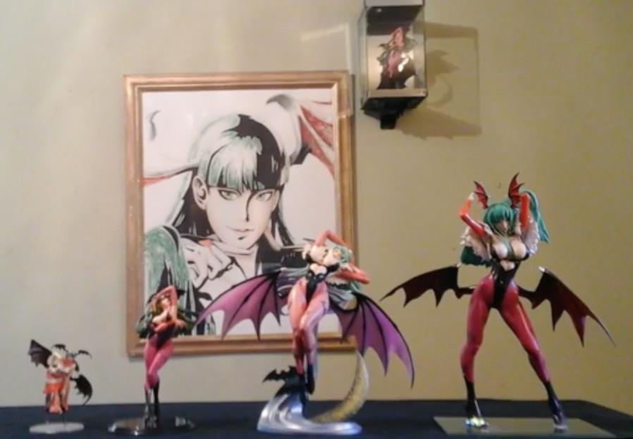 Morrigan Aensland Figurines