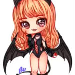 Cute Succubus Speedpaint by TVBubi