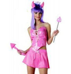 Pink Devil Costume