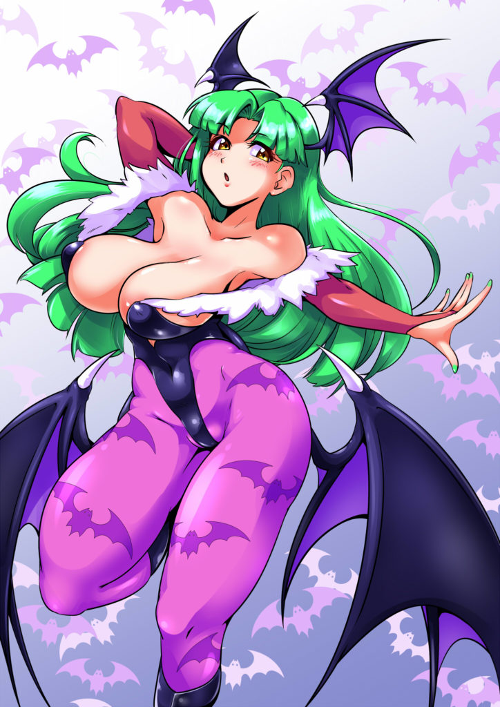Morrigan Aensland by りょい