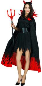 Pretty Flame Devil Costume