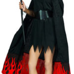 Pretty Flame Devil Costume