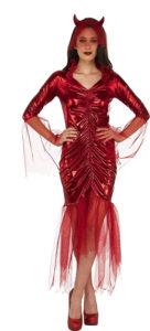Red Devil Bride Costume