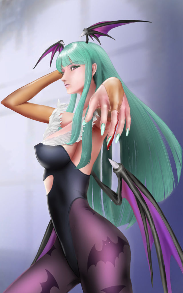 Morrigan Aensland by kaku10