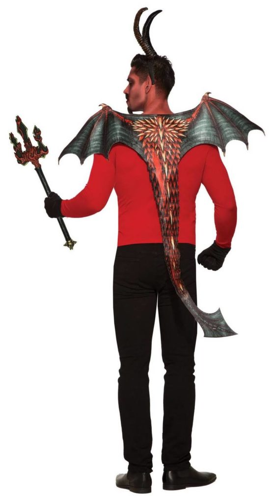 Adult's Devil Wing and Tail Costume Set